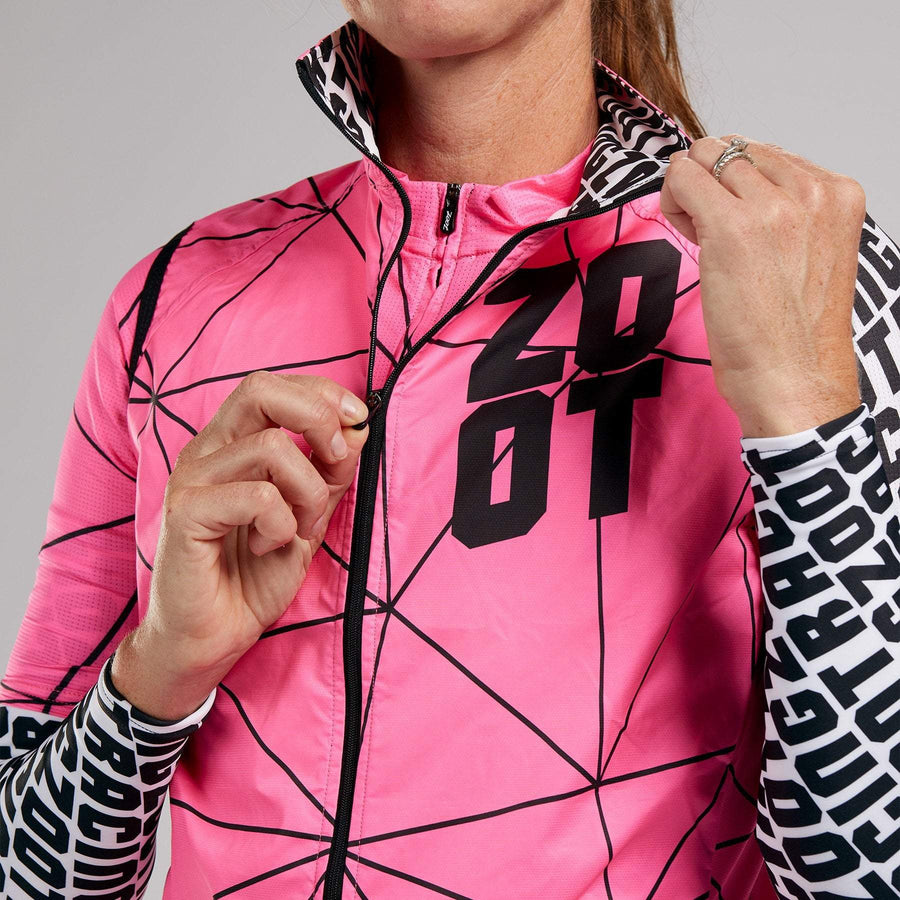 Zoot Sports CYCLE APPAREL WOMENS LTD CYCLE VEST - NEON RACING