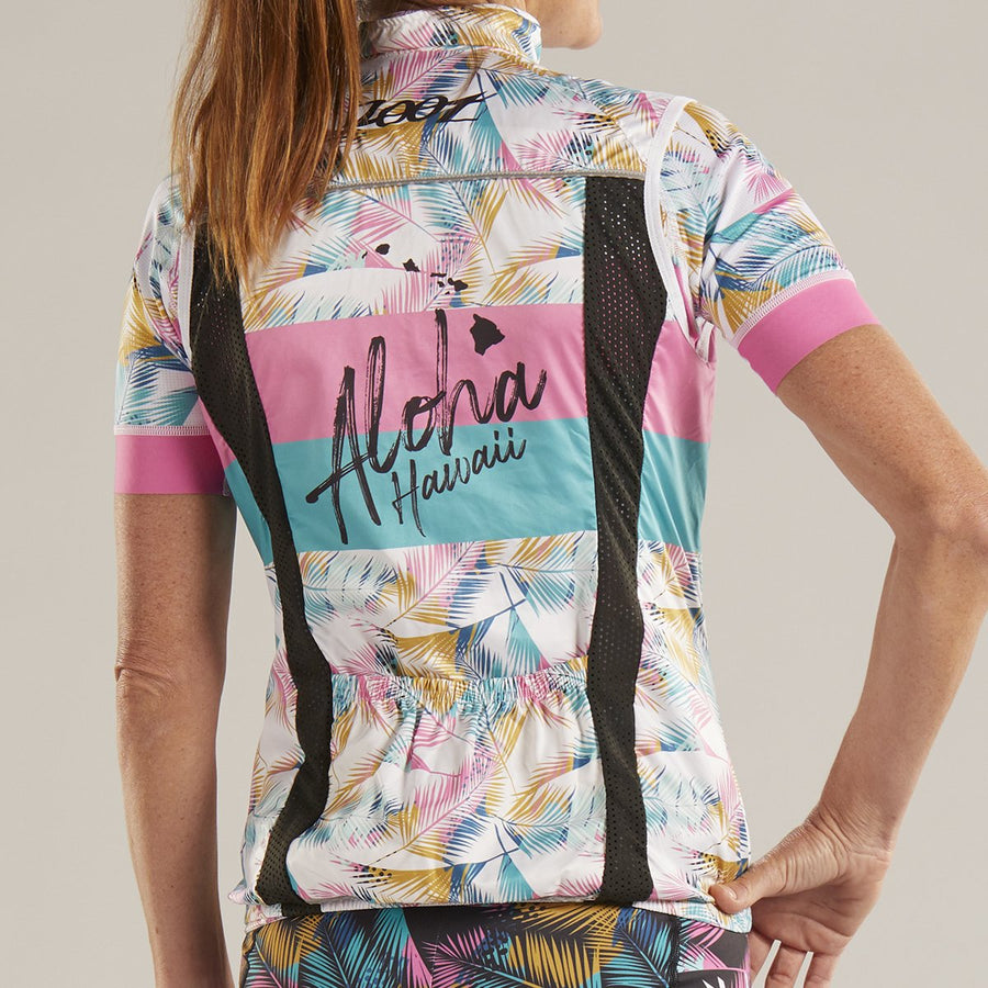 Zoot Sports CYCLE APPAREL WOMENS LTD CYCLE WIND VEST- ALI'I 19