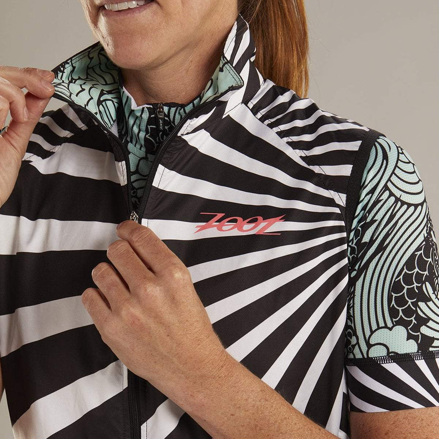 Zoot Sports CYCLE APPAREL WOMENS LTD CYCLE WIND VEST- TOKYO