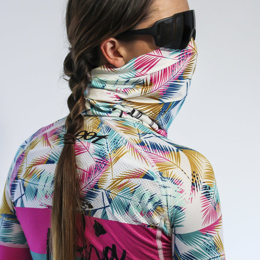 Zoot Sports FACE COVERINGS ALOHA / ONE SIZE FITS MOST UNISEX COOLING NECK SLEEVE - ALOHA