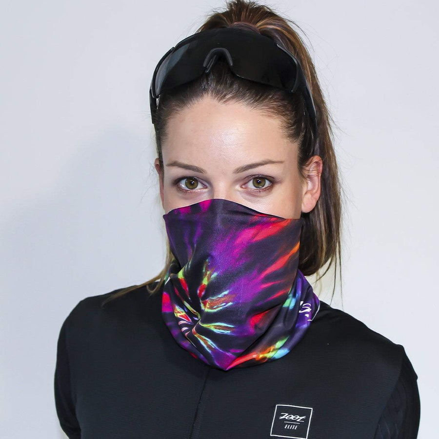 Zoot Sports FACE COVERINGS GOOD VIBES / ONE SIZE FITS ALL UNISEX COOLING NECK SLEEVE - GOOD VIBES