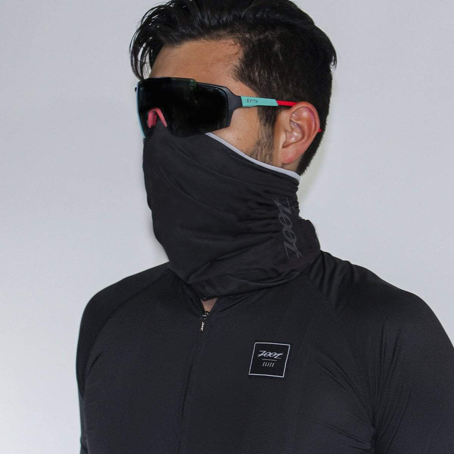 Zoot Sports FACE COVERINGS OSFA / BLACK UNISEX COOLING NECK SLEEVE - BLACK