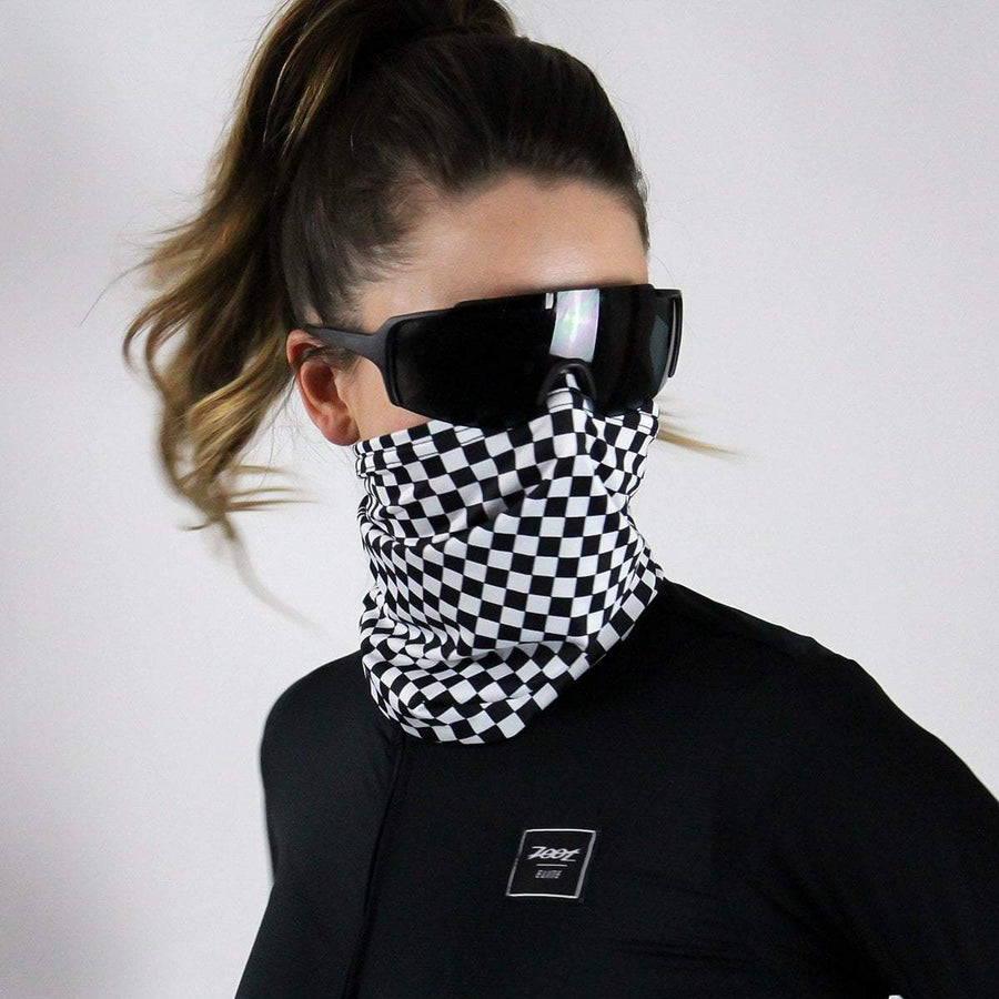 Zoot Sports FACE COVERINGS OSFA / CHECKERS UNISEX COOLING NECK SLEEVE - CHECKERS