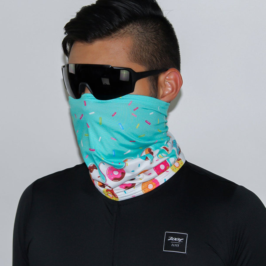 Zoot Sports FACE COVERINGS OSFA / DONUT UNISEX COOLING NECK SLEEVE - DONUT