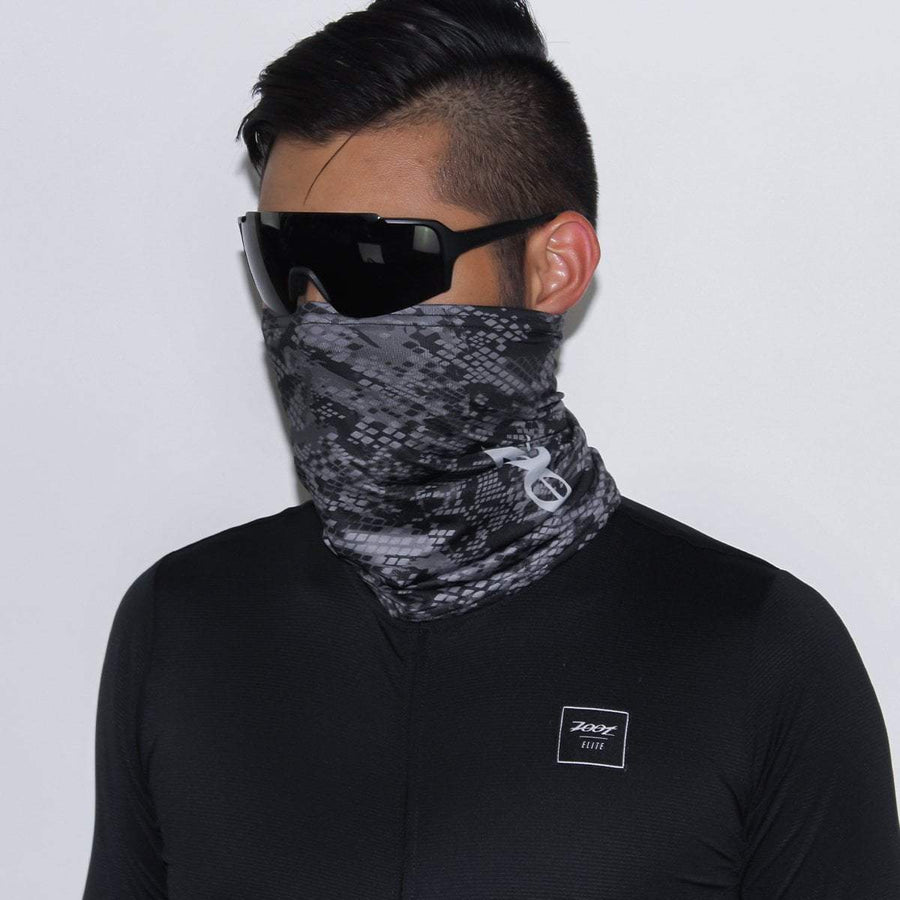 Zoot Sports FACE COVERINGS OSFA / SNAKE SKIN UNISEX COOLING NECK SLEEVE - SNAKE SKIN
