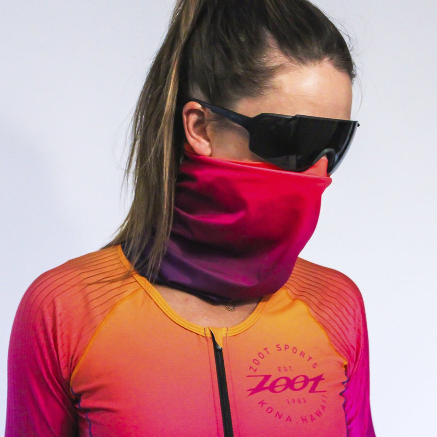 Zoot Sports FACE COVERINGS SUNSET / ONE SIZE FITS ALL UNISEX COOLING NECK SLEEVE - SUNSET