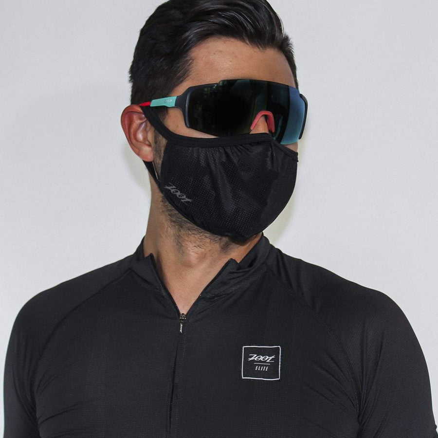 Zoot Sports FACE COVERINGS UNISEX FACE MASK - BLACK