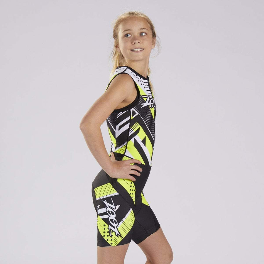 Zoot Sports KIDS KIDS UNISEX LTD TRI RACESUIT - TEAM YELLOW