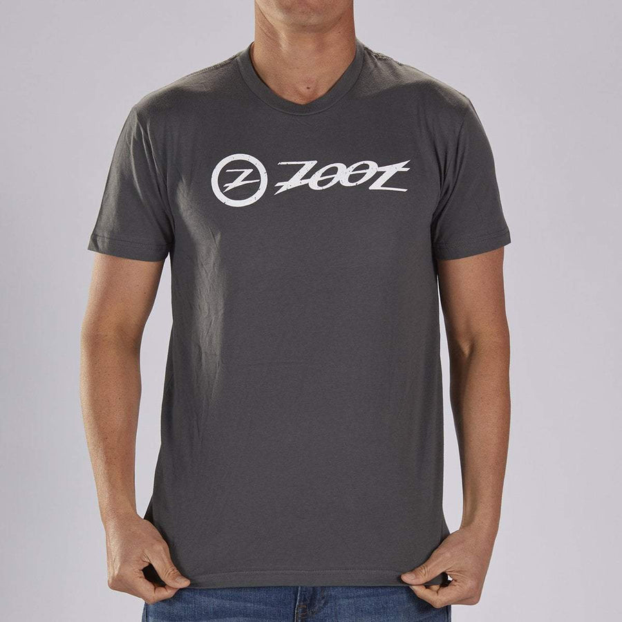 Zoot Sports LIFESTYLE ZOOT M COTTON TEE -  CHARCOAL