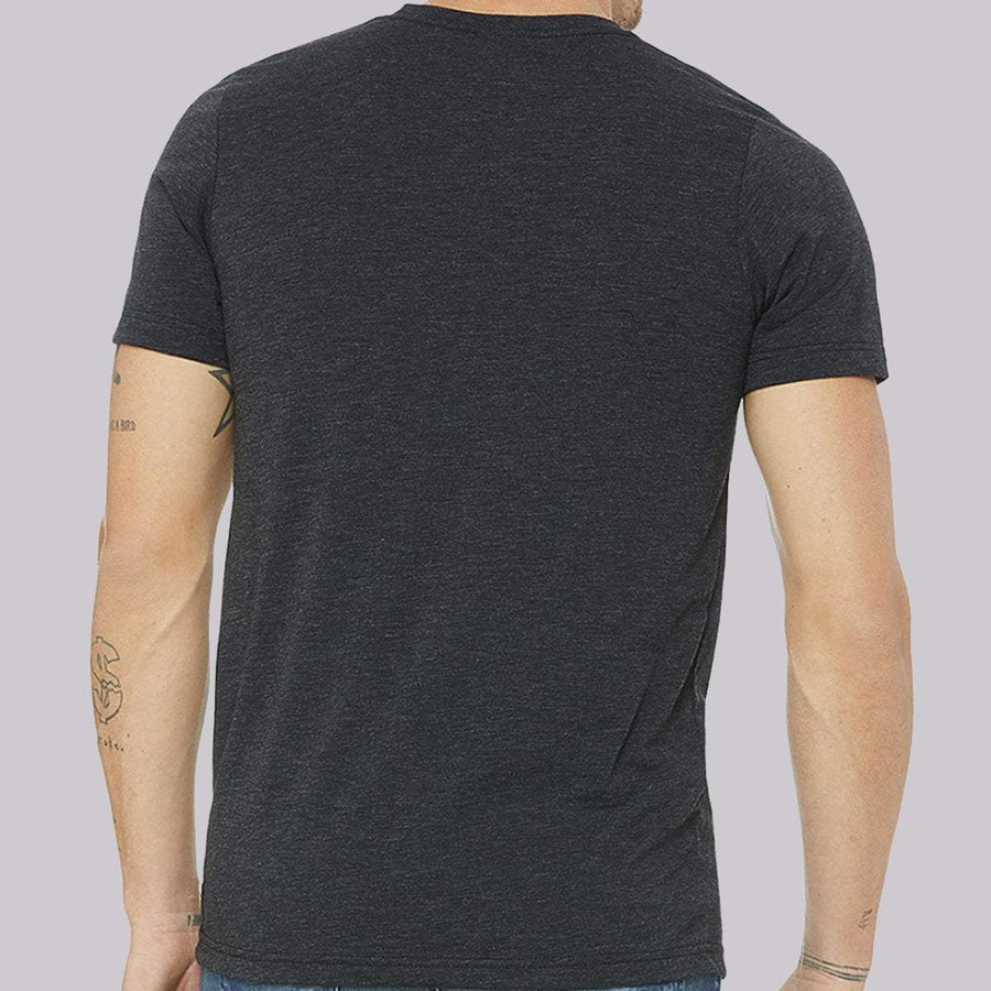 Zoot Sports LIFESTYLE ZOOT M COTTON TEE -  CHARCOAL HEATHER