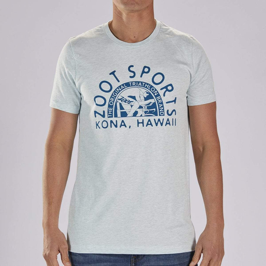Zoot Sports LIFESTYLE ZOOT M LIMITED EDITION COTTON TEE - ICE BLUE