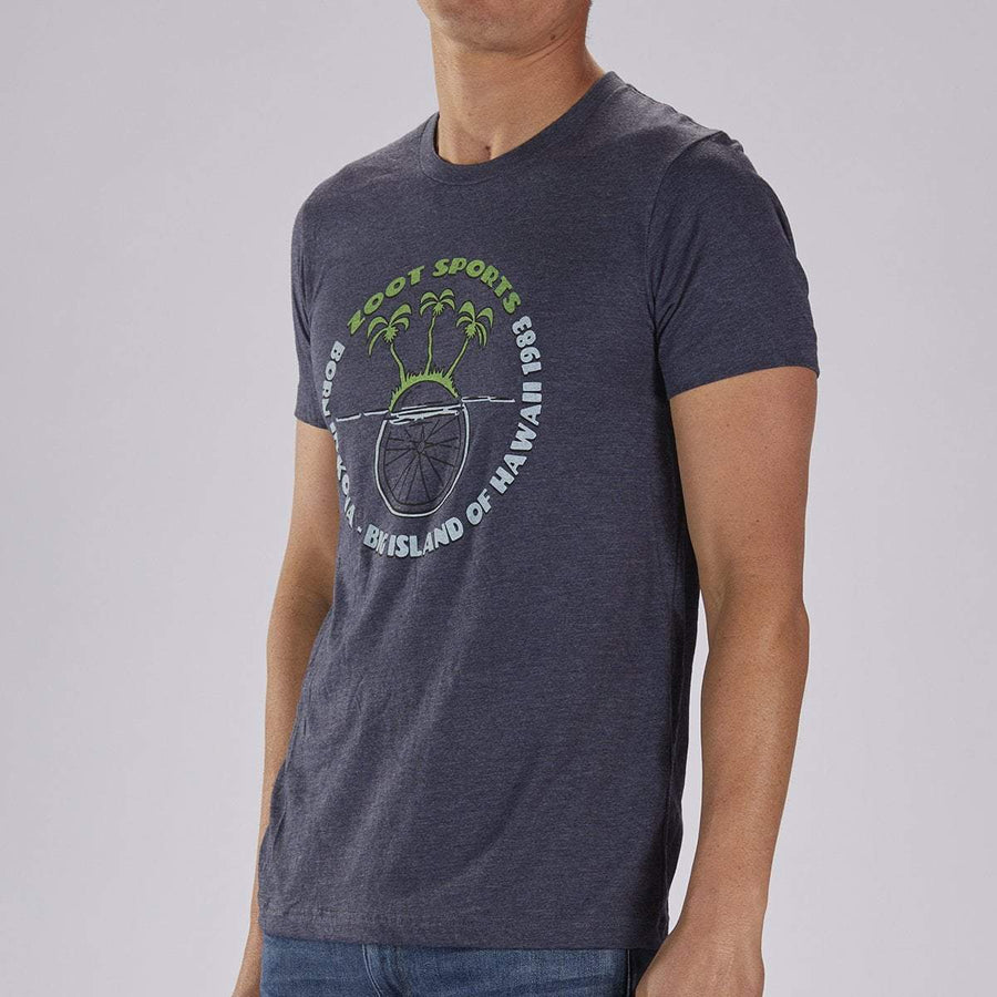 Zoot Sports LIFESTYLE ZOOT M LIMITED EDITION COTTON TEE - NAVY HEATHER
