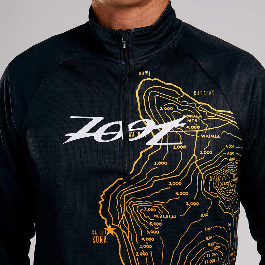 Zoot Sports RUN APPAREL MENS LTD RUN THERMO HALF ZIP - HOFF RACING