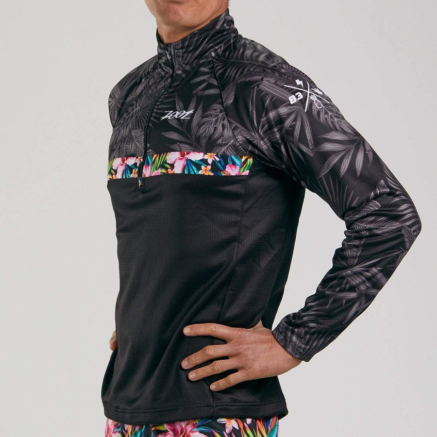 Zoot Sports RUN APPAREL MENS LTD THERMO HALF ZIP - ALOHA ALWAYS
