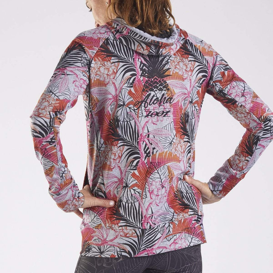 Zoot Sports RUN APPAREL WOMENS LTD HOODIE - ALI'I 18