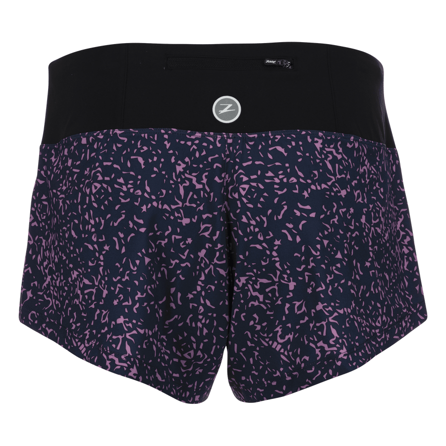 Zoot Sports RUN APPAREL WOMENS LTD RUN 3 INCH PCH SHORT - PEBBLE