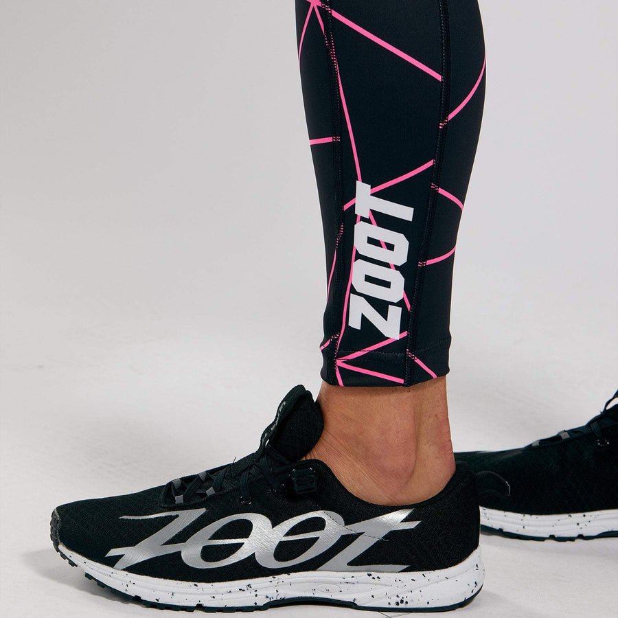 Zoot Sports RUN APPAREL WOMENS LTD RUN PULSE TIGHT - NEON RACING