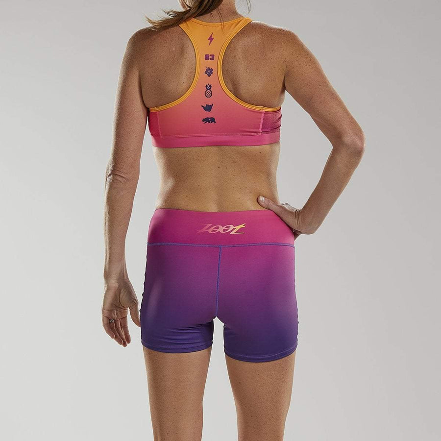 Zoot Sports RUN APPAREL WOMENS LTD RUN SHORT - SUNSET