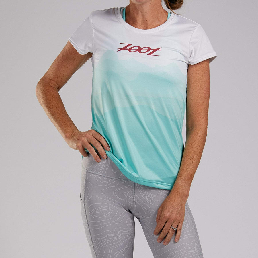 Zoot Sports RUN APPAREL WOMENS LTD RUN TEE - NORTHWEST