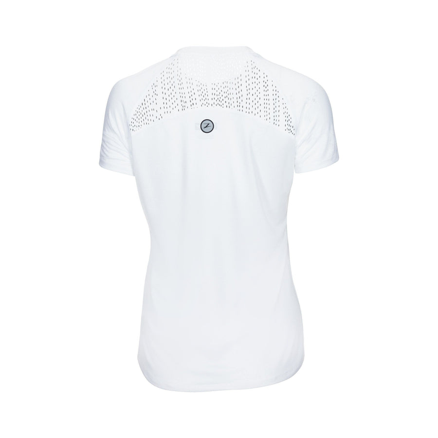 Zoot Sports RUN APPAREL WOMENS RUN CHILL OUT TEE - WHITE