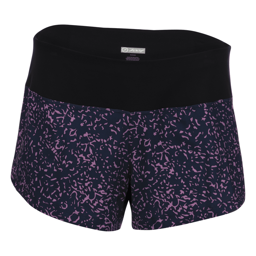 Zoot Sports RUN APPAREL X-SMALL / PEBBLE WOMENS LTD RUN 3 INCH PCH SHORT - PEBBLE