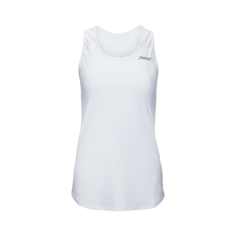 Zoot Sports RUN APPAREL X-SMALL / WHITE WOMENS RUN CHILL OUT SINGLET - WHITE