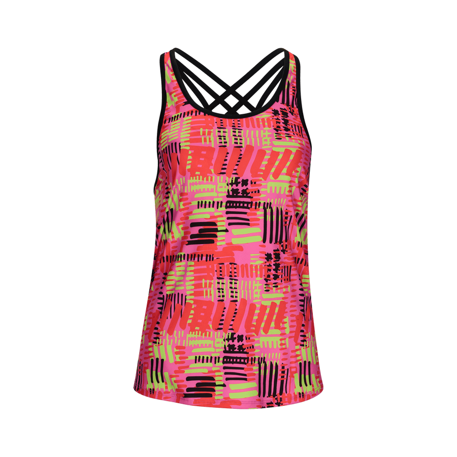 Zoot Sports RUN APPAREL X-SMALL / ZINC WOMENS RUN WEST COAST SINGLET - ZINC