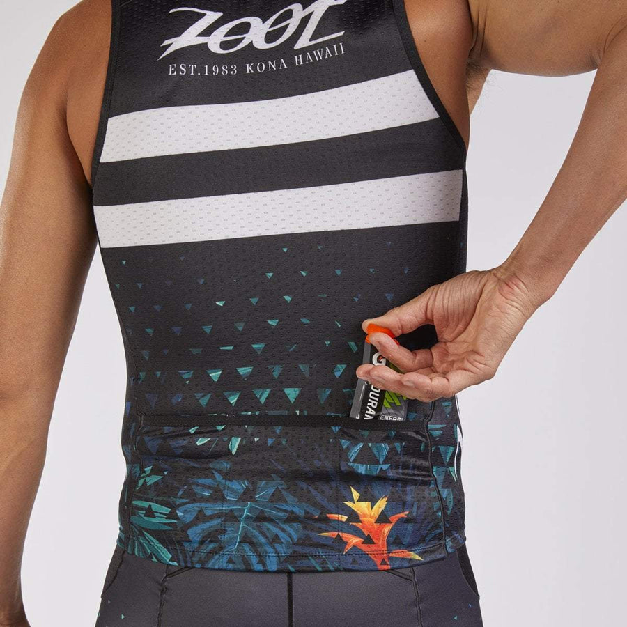 Zoot Sports TRI APPAREL MENS LTD TRI TANK - ALI'I 18
