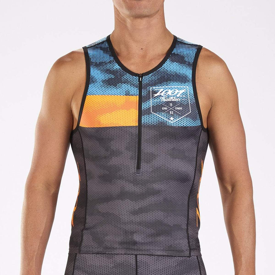 Zoot Sports TRI APPAREL MENS LTD TRI TANK - CAMO 18