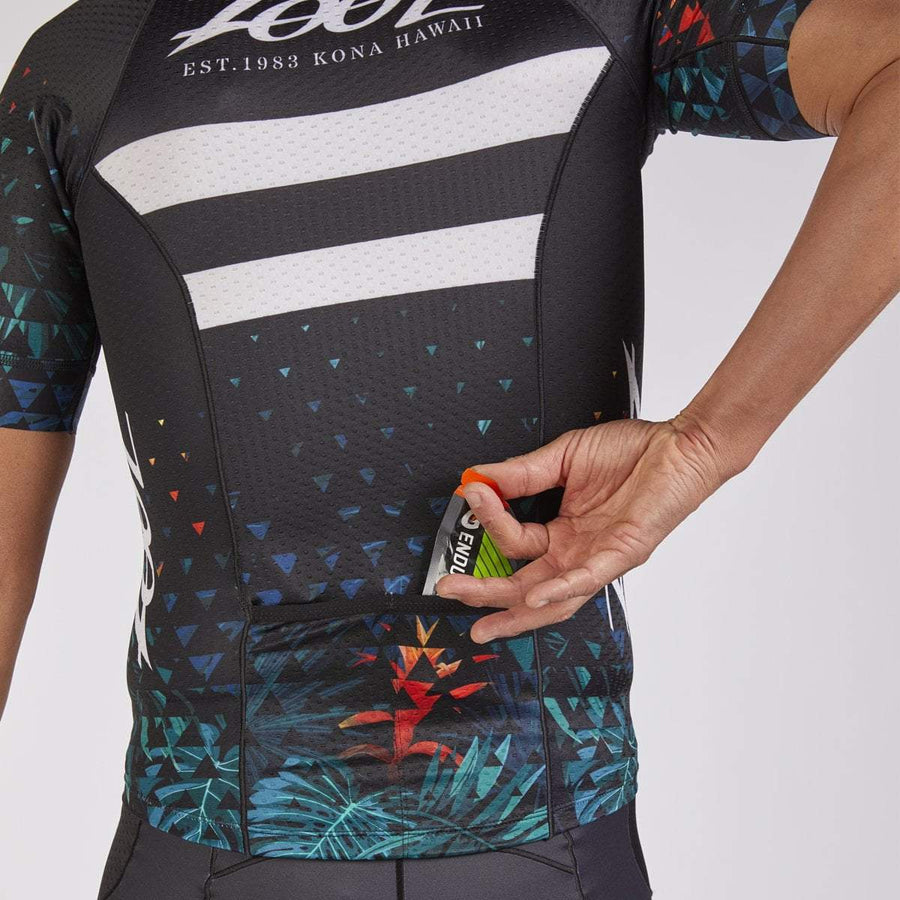 Zoot Sports TRI APPAREL SMALL / ALI'I 18 MENS LTD TRI SS AERO JERSEY - ALI'I 18
