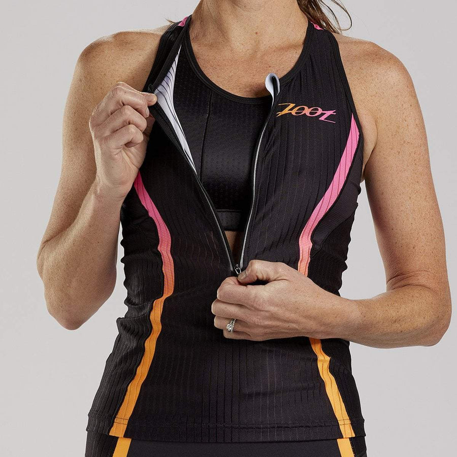 Zoot Sports TRI APPAREL WOMENS ULTRA TRI RACERBACK - FADE