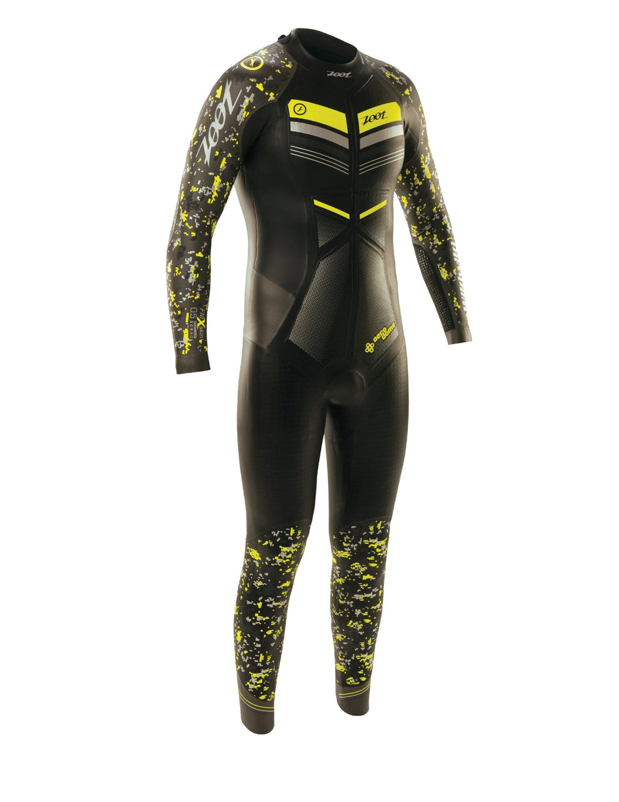 Zoot Sports WETSUITS X-SMALL / BLACK/HIGH VIZ YELLOW MENS WIKIWIKI