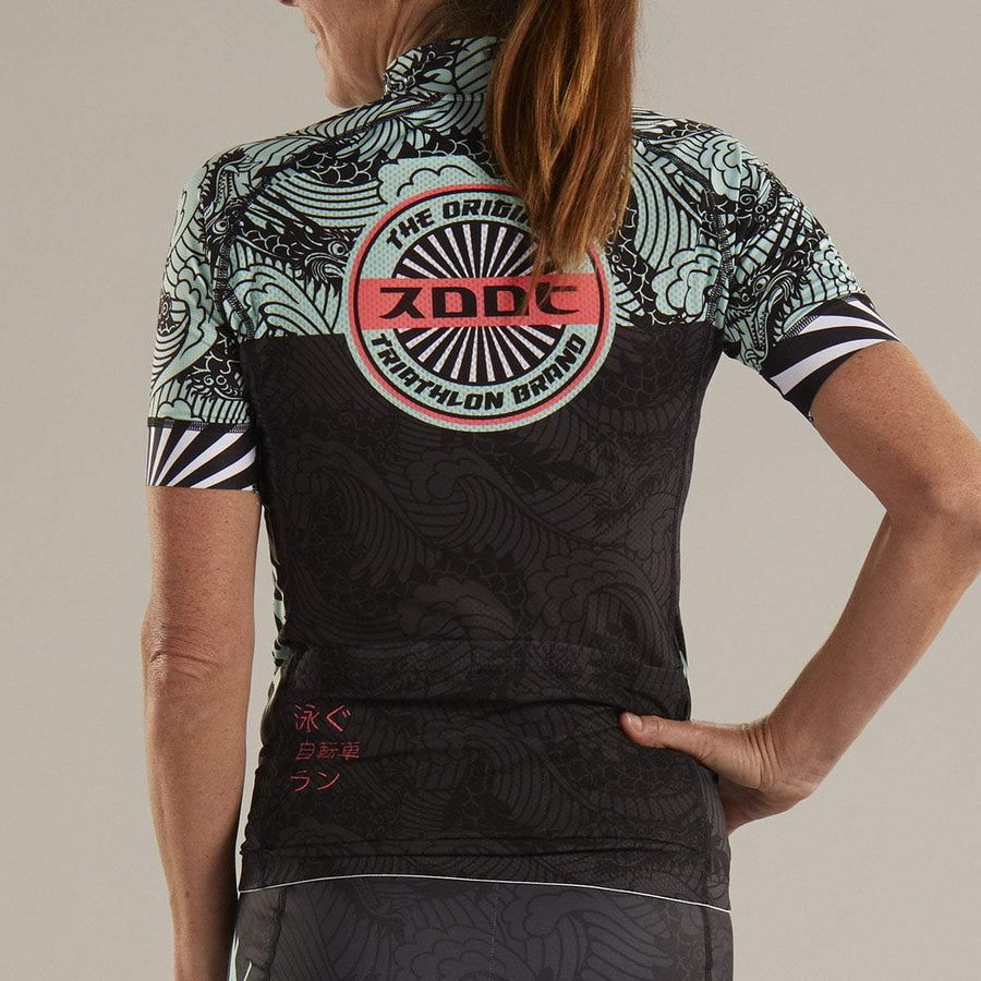 zootsports CYCLE APPAREL WOMENS LTD CYCLE JERSEY - TOKYO