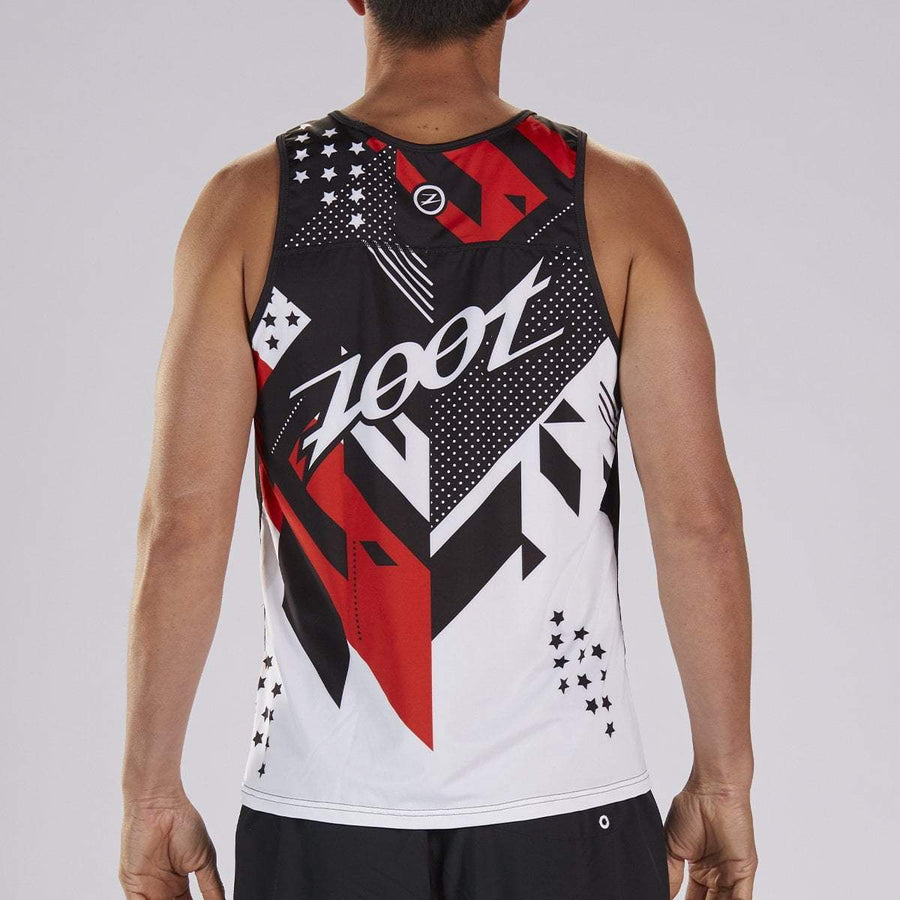 zootsports RUN APPAREL MENS LTD RUN SINGLET - TEAM 19