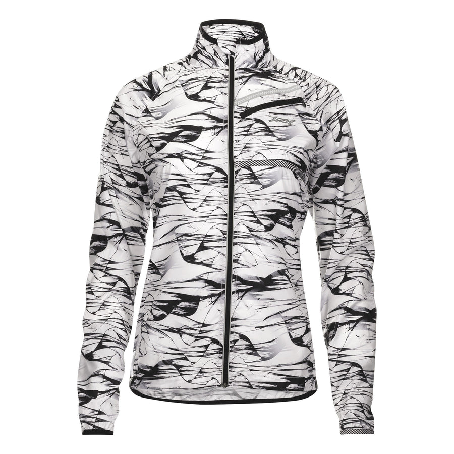 zootsports RUN APPAREL X-SMALL / WIND WOMENS RUN WIND SWELL JACKET - WIND