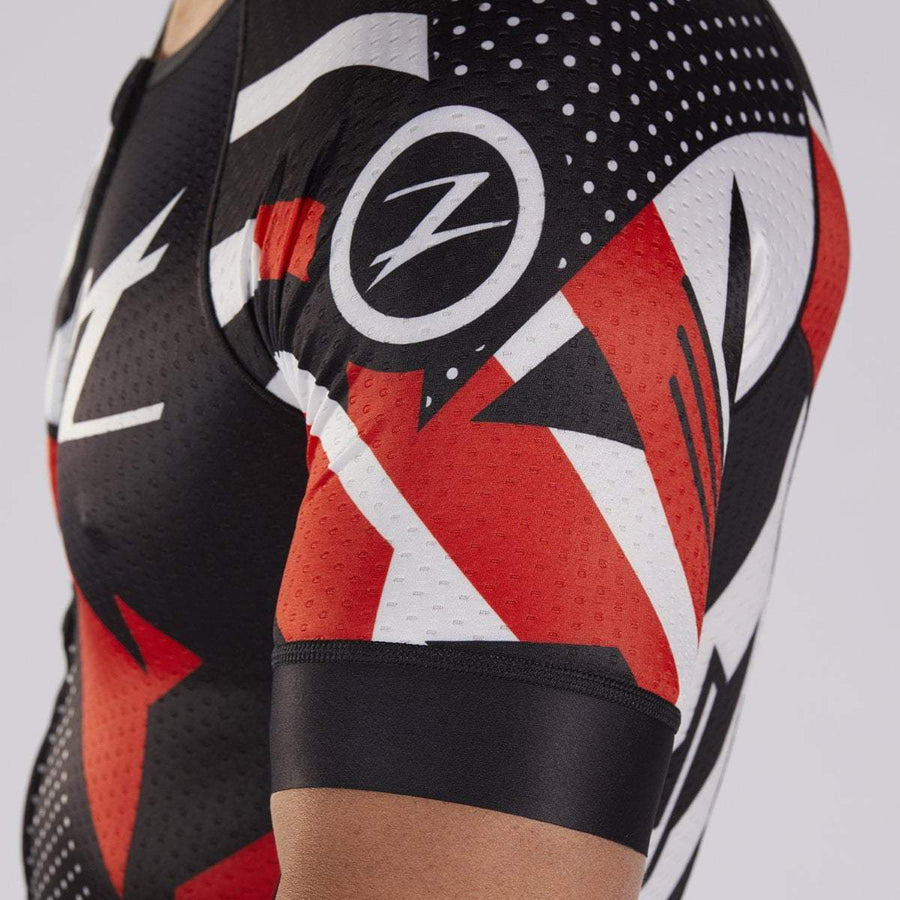 zootsports TRI APPAREL MENS LTD TRI SS AERO JERSEY - TEAM 19