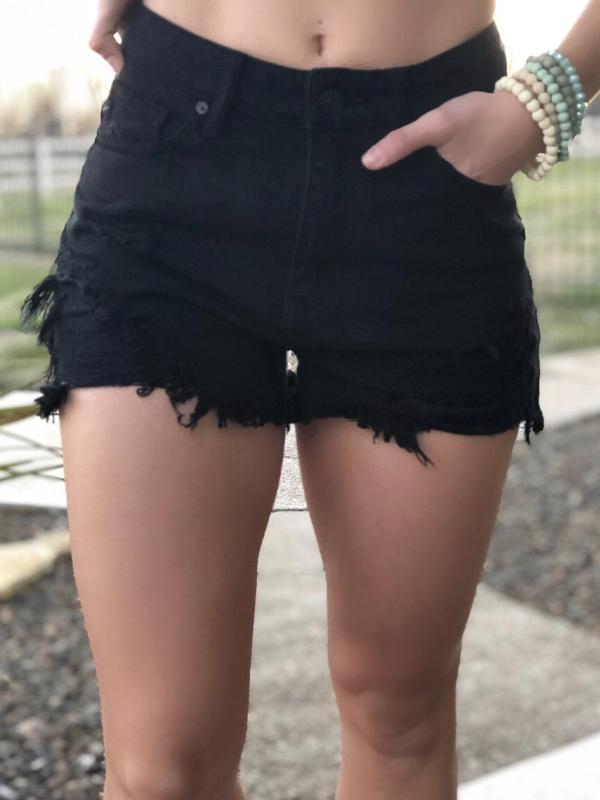 Kan Can Riley Shorts -Black