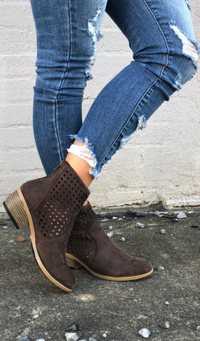 Darcy Booties- Chocolate