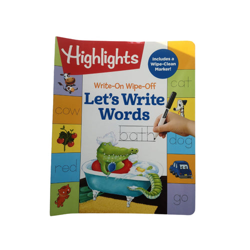 JUG LIBRO - Wow Lets Write Words
