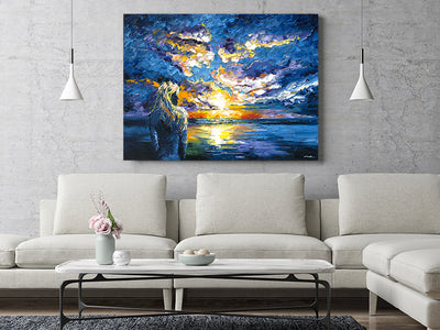 How to Pick Large Art (and Where to Place It)