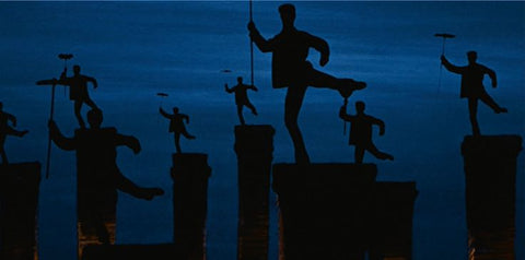 Mary Poppins - Step in Time - silhouettes