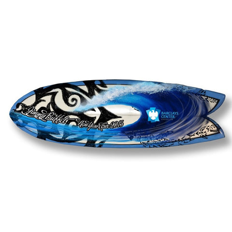 Customized Surfboard  concept designed by Nelson Makes Art