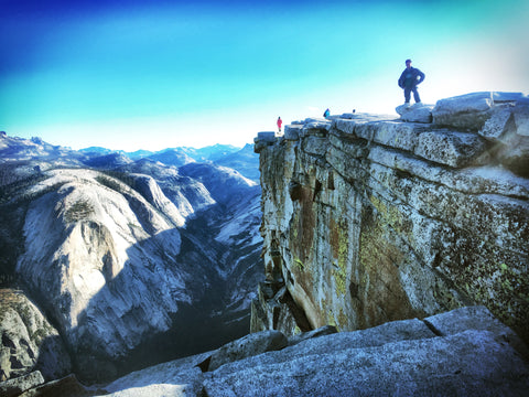 Nelson on Half Dome