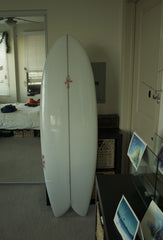 Surf Wall Art - preparing to paint a surfboard