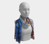 Summer Night Sky Long Scarf