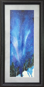 Aurora Fountain-Winter Holiday Framed Wall Art-nelsonmakesart