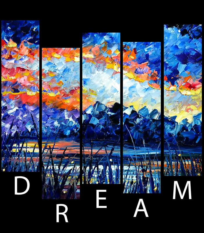 DREAM Artistic Oil Painting Mens & Womens T-shirt-nelsonmakesart