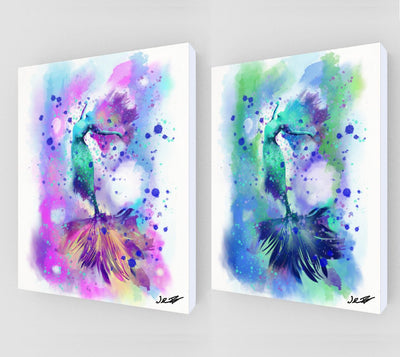 Breathing Water Art Canvas