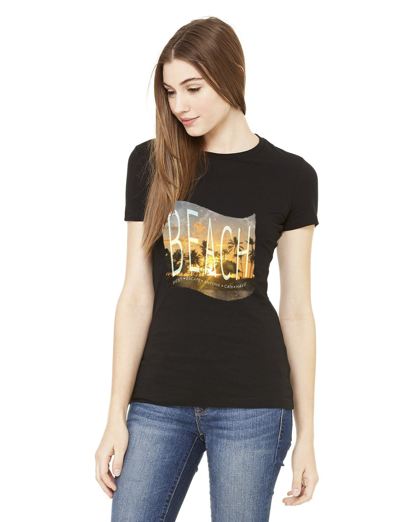 BEACH Escape Bella Ladies Favorite T-shirt-nelsonmakesart