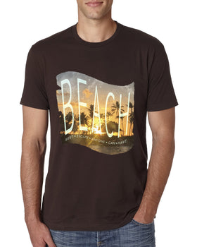 BEACH Men's Crew Neck T-shirt